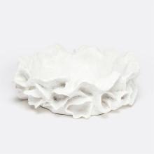 Coco Bowl White Faux Coral | Gracious Style