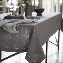 Lima Stain-Resistant Plain Table Linens | Gracious Style