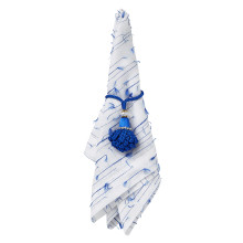 Marbella Indigo Napkin Rings, Set of 4 | Gracious Style
