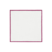 Bel Air Cocktail Napkins Lavender 6 x 6 in, Set of Four | Gracious Style