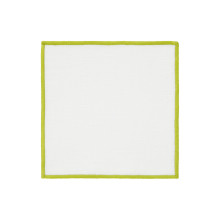 Bel Air Cocktail Napkins Lime 6 x 6 in, Set of Four | Gracious Style