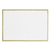 Bel Air Cocktail Napkins Gold 6 x 9 in, Set of Four | Gracious Style