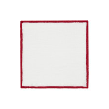 Bel Air Cocktail Napkins Red 6 x 6 in, Set of Four | Gracious Style