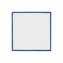 Bel Air Cocktail Napkins Sea Blue 6 x 6 in, Set of Four | Gracious Style