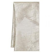 Botanica 20 x 20 in Napkins Pewter Foil Print, Set of Four | Gracious Style