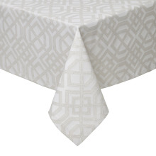 Bristol Stain-Resistant Damask Table Linens | Gracious Style
