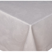 Brooklyn Coated Stain-Resistant Table Linens, Taupe | Gracious Style