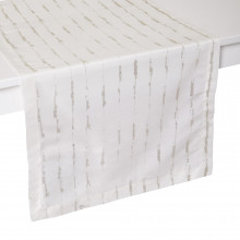 Cannes Stain-Resistant Print Table Linens | Gracious Style