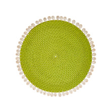 Capiz Placemats S/4 Green | Gracious Style