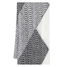 Chelsea Black and White Damask Table Linens | Gracious Style