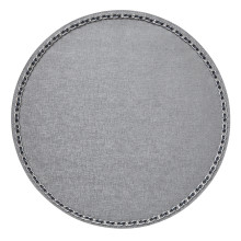 Coco Placemats Silver 15 in round, Set of Four | Gracious Style