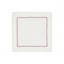 Dolce Cocktail Napkins Purple 6 x 6 in, Set of Four | Gracious Style