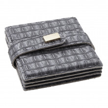 Everglades Coasters Gray, Set of Four | Gracious Style