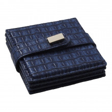 Everglades Coasters Navy, Set of Four | Gracious Style