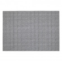 Everglades Placemats Reversible Set Of 4 Rectangle Gray/Light Gray Rectangle | Gracious Style