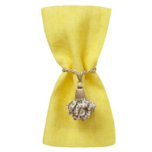 Fiji 20 x 20 in Napkins Yellow, Set of Four | Gracious Style