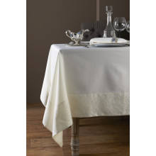Geneva Coated Stain-Resistant Table Linens | Gracious Style