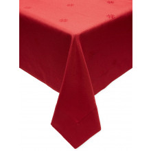 Holiday Red Easy Care Table Linens | Gracious Style