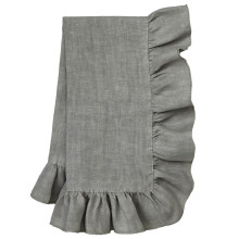 Lucca 20 x 20 in Napkins Gray, Set of Four | Gracious Style