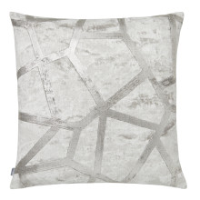 Terra 059 Pillow 22 x 22 in Square Gray Silver | Gracious Style