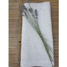 Pure Linen Easy Care 22 x 22 in Napkin (set of 4), Beige | Gracious Style