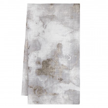 Ritz 20 x 20 in Napkins Gray Metallic, Set of Four | Gracious Style