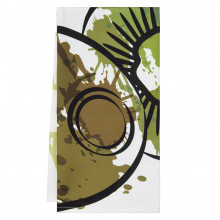 Fruit Splatter Tea Towels Kiwi 20 x 28 in | Gracious Style