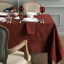 Vienna Coated Stain-Resistant Table Linens | Gracious Style