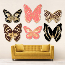 Butterfly Royale 2 Gilded Hand Leaf | Gracious Style