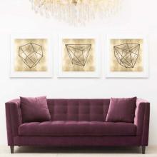 Krystalle Gold Leaf Gilded Hand Leaf | Gracious Style