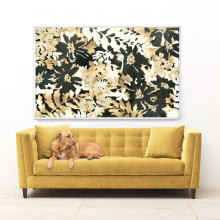 Nature Camo Gilded Hand Leaf | Gracious Style