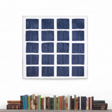 Cooking the Books Blue, Framed | Gracious Style