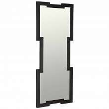 Maze Mirror, Charcoal Black | Gracious Style