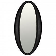 Woolsey Mirror, Charcoal Black | Gracious Style