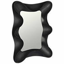 Concave Mirror, Charcoal Black | Gracious Style