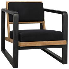 Mala Chair, Charcoal Black | Gracious Style