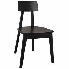 Kimi Dining Chair, Charcoal Black | Gracious Style