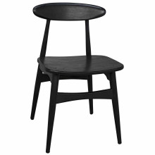 Surf Dining Chair, Charcoal Black | Gracious Style