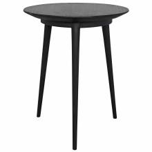 Tripod Side Table, Charcoal Black | Gracious Style