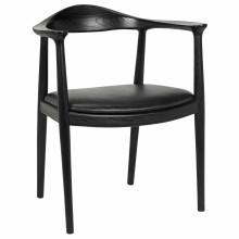Dallas Chair, Charcoal Black | Gracious Style