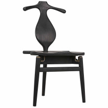 Figaro Chair with Jewelry Box, Charcoal Black | Gracious Style