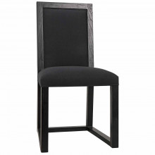 Manos Dining Chair, Charcoal Black | Gracious Style