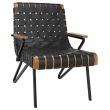 Laramy Chair, Leather | Gracious Style