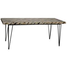 Nestor Desk, Onyx | Gracious Style