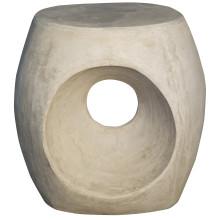 Trou Side Table/Stool, Fiber Cement | Gracious Style