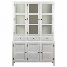 Colonial Hutch, White Wash | Gracious Style