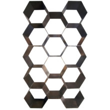Bee Hive Bookcase, Metal | Gracious Style