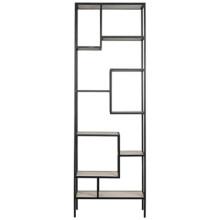 Haru Bookcase, XL, Metal and Quartz | Gracious Style