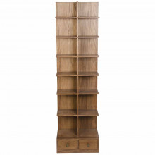 Zip Bookcase, Dark Walnut | Gracious Style