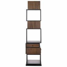 Baron Bookcase, Dark Walnut | Gracious Style
